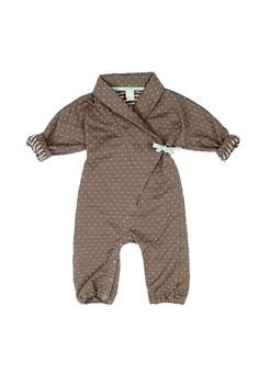 macarons UNIQUE Overall OREL MILLEDOTS 100% ORGANIC this ONE OF A KIND OVERALL keeps your baby warm all the time while allowing your little one to move around and have fun!!! SHOP ONLINE NOW www.macarons-shop.com