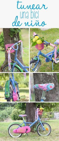 Tunear una bici de niño Transformar bicicleta by Sra. Cricket