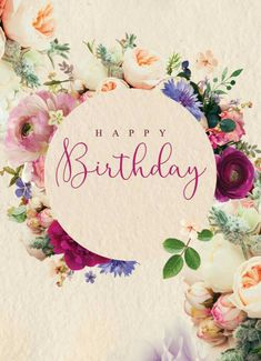 Happy Birthday Wishes, Quotes & Messages Collection 2020 ~ happy birthday images Birthday Card Sayings, Birthday Wishes Quotes, Happy Birthday Messages, Happy Birthday Greetings, Happy Birthday To Me Quotes, Card Birthday, Happy Birthday Flower, Happy Birthday Pictures, Happy Birthday Female