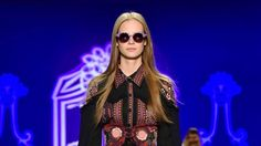 The sunglasses showcased at Anna Sui's New York Fashion Week show were manufactured in P.E.I.