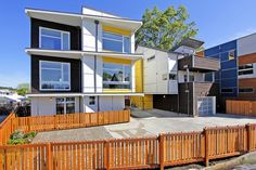 Passivhaus Columbia Station Phase 4, Columbia City Neighborhood, Seattle, WA #greenhomes