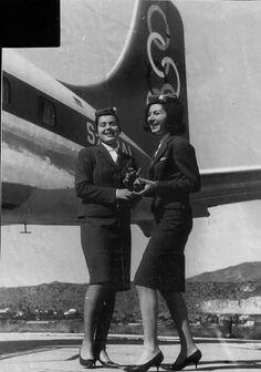 Olympic airways 1965 Elliniko airport