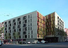 154 Rental Social Housing And Public Building For The Barcelona Municipal Housing,Render