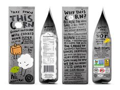 This Corn on Packaging of the World - Creative Package Design Gallery