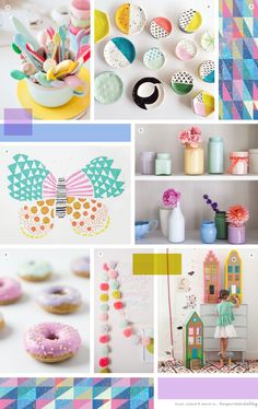 Time for a mood board me thinks. I'm loving these colours at the moment.