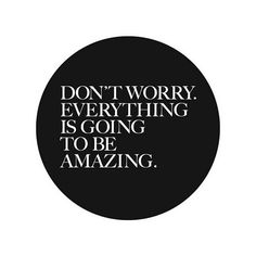 Don't worry...