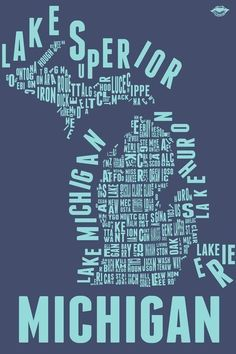 Michigan. Even though living here may hurt at times for one reason or another, I still love you and call you my home. ♥