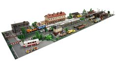 "pimpmybricks: ""The Train Station A.D. 2014 by Maciej Drwięga http://flic.kr/p/pGJL9B """