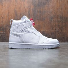 premium selection e1e96 6360c Air Jordan 1 High Zip Women (white   white-university red) Jordan 1