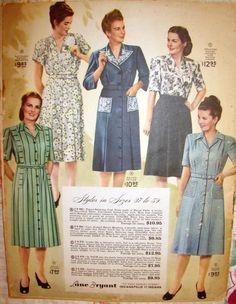 Vintage LANE BRYANT CATALOG Spring & Summer 1947-- 92 pp. post- WWII FASHION in Books | eBay