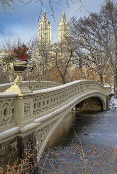 Bow Bridge, Central Park. New York City, NY