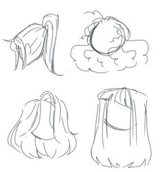 Nice New Drawing Reference Hair Animation Ideas . -You can find Animation and more on our website.Nice New Drawing Reference Hair Animation Ideas . Hair Reference, Drawing Reference Poses, Drawing Poses, Drawing Tips, Drawing Ideas, Sketch Ideas, Animation Reference, Drawing Drawing, Anime Hair Drawing