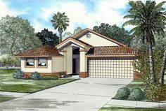 1320 Sq. Ft. House Plan [13-001-310] from Planhouse - Home Plans, House Plans, Floor Plans, Design Plans