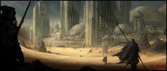 Mark Molnar - Sketchblog of Concept Art and Illustration Works: Dune Project