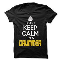 Keep Calm I am Drummer T-Shirts, Hoodies. Check Price Now ==►…