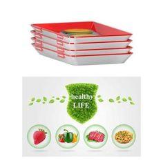Creative Food Preservation Tray Food Storage, Storage Containers, Vacuum Storage, Freezer Containers, Food Containers, Storage Ideas, Creative Food, Creative Design, Konservierung Von Lebensmitteln