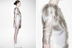 ying gao's sound activated kinetic garments: incertitudes - designboom   architecture & design magazine