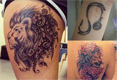 sternzeichen-tattoo-loewe-symbol-handgelenk-löwenkopf-aquarell-rücken