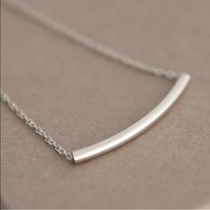 Cheap fashion band, Buy Quality fashion heart necklace directly from China necklace cam Suppliers: Fashion Necklaces For Woman Curved Bar Gold Silver Necklaces Dainty Necklace Pedants Jewelry Sideways Choker Necklaces Silver Bar Necklace, Dainty Necklace, Pendant Necklace, Jewelry Accessories, Jewelry Design, Silver Bars, Fashion Necklace, Jewelry Necklaces, Chokers