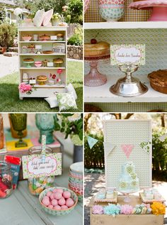 Super cute idea for an outside party.  Doing it!