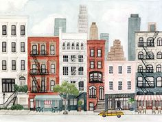 Illustration New-York - Mélanie Voituriez x Atomic Soda