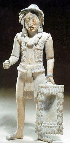 Jaina Standing Figurines Maya Civilization, Mayan Cities, Mexican Ceramics, Original Paintings For Sale, Mesoamerican, Inca, Ancient Artifacts, Ancient Civilizations, Sculpture Art