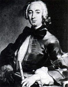 ♫ Free sheet music : Quantz, Johann Joachim - Capricio (Flute solo)