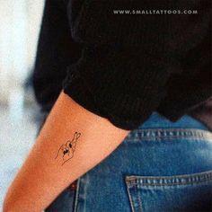 Crossed Fingers Temporary Tattoo (Set of Crossed Fingers Short-term Tattoo (Set of three) Crossed Fingers Short-term Tattoo (Set of three) Crossed Fingers Sh. Hawaiianisches Tattoo, Tattoo Hals, Tattoo Set, Back Tattoo, Tattoo Music, Wing Tattoos, Brown Tattoos, Tatoos, Simple Tattoos For Guys