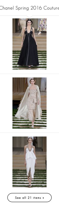 """Chanel Spring 2016 Couture"" by polyvore-editorial ❤ liked on Polyvore featuring PFW, Chanel, couture and ChanelHauteCouture"