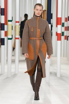 Hermès Fall 2020 Ready-to-Wear Collection - Vogue Fashion Week Paris, Live Fashion, Fashion 2020, New York Fashion, Runway Fashion, Fashion Trends, Daily Fashion, Street Fashion, Hermes
