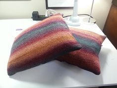 Ravelry: patriciajane's Parlour Cushions // in Dyed In The Wool from Spincycle Yarns