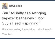 Poor guys head is spinning will always be poor guys head is spinning <<< Yes nothing can replace it.— I disagree. Broadway Theatre, Musical Theatre, Broadway Shows, Tuck Everlasting Musical, Newsies Live, Theatre Nerds, Dear Evan Hansen, Lin Manuel, Spinning