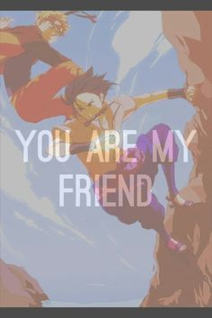 Naruto and Sasuke #distance Love that theme!