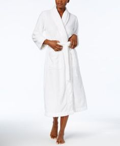 Charter Club Long Cable Robe, Created for Macy's | macys.com
