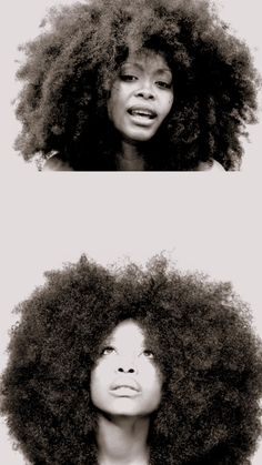 Grow the biggest afro