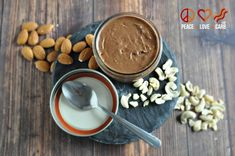 Cocoa Nut Butter - Almond and Cashew | Peace, Love and Low Carb