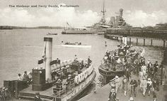 Gosport Ferries Limited - Portsmouth Harbour Ferry Company - Page 1: Up to 1962 - Simplon Postcards