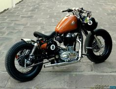 Custom Motorcycles | ball-rajputana-custom-motorcycle-bobber-using-royal-enfield-india01