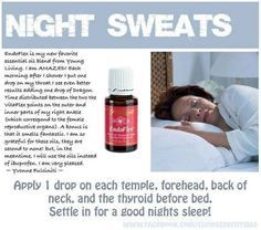 Young Living Essential Oils: Endoflex for Night Sweats