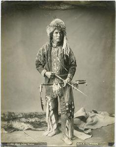 Blood Indian warrior: Joe Healy (Potaina), n.d.