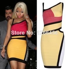 Hot Sale Star Style Women Wholesale Bodycon Dress Mixed Color Casual Hollow Bandage Dress H418 $59.00 @yaili gonzalez @Sarah Groth @Sarah S. @Sabrina Baribeau @Shayda Nematollahi @Milagros Quinonez @Whitney Sorrell @Fashion-boutique Green @Marlei Quevedo @qian hui