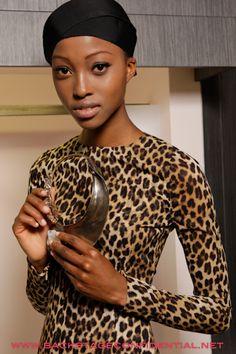 "Zimbabwean Supermodel ""Face of Louis Vouitton"" 17 yrs . old Nyasha Matonhodze"
