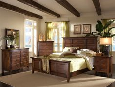 Mission style bedroom set. This is solid and elegant. | Arts and ...