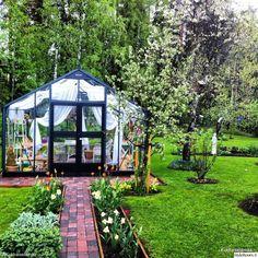 piha,puutarha,kasvihuone