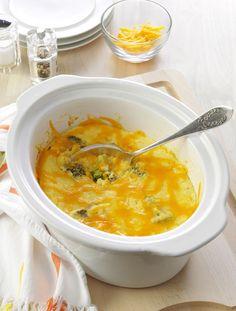 Crock-Pot Egg and Broccoli Casserole Recipe