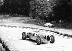 Bernd Rosemeyer & Auto Union Type C historic photo print