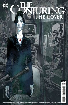 The Conjuring: The Lover #1 drops on 6/1 from DC Comics' new horror imprint. Check out an early preview. Ec Comics, Horror Comics, Horror Films, Death Of Wolverine, Haunted Objects, New Line Cinema, The Exorcist, Nightmare On Elm Street, Dark Night