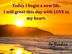 Image detail for -Monday Morning Quotes - inspirational Quotes to uplift your day . Monday Morning Quotes, Morning Inspirational Quotes, Good Night Quotes, Inspiring Quotes About Life, Og Mandino Quotes, Wednesday Motivation, Sharing Quotes, New Life, Famous Quotes