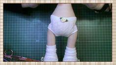 Tutorial muñeca de comunión: Braguitas y top del vestido