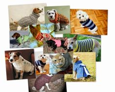 yo elijo coser: DIY: Abrigo para mascotas. Ideas, patrón y tutorial